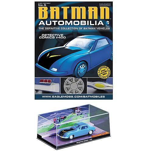 Batman Detective Comics #400 Batmobile with Magazine - Eaglemoss Publications - Batman - Vehicles: Die-Cast at Entertainment Earth