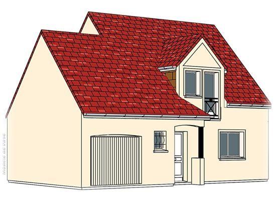 Mod le pc 50 pavillon avec garage comprenant cuisine for Chambre sans fenetre surface habitable
