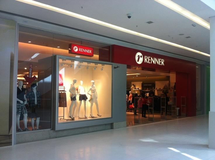 Fachada Renner - Shopping Bela Vista