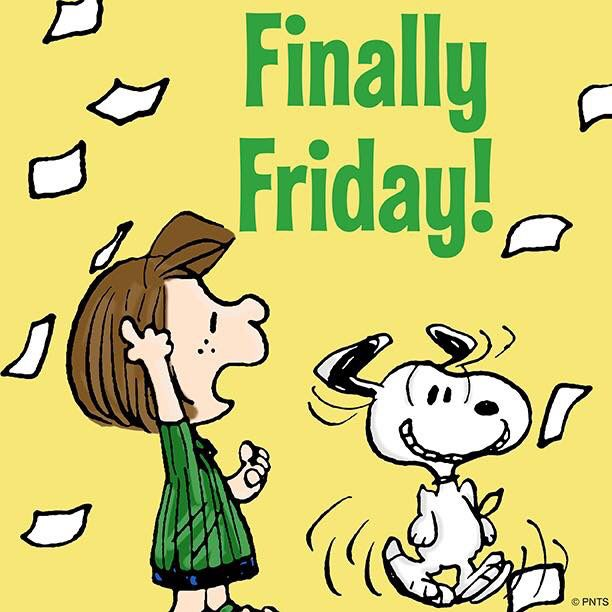 Finally Friday! Snoopy