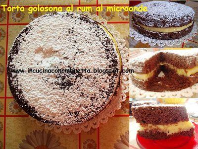 In cucina con Ombretta: Torta golosona al rum al microonde