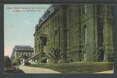 1910s ONE OF THE BUILDINGS AT THE UNIVERSITY OF CALIFORNIA BERKLEY CAL POSTCARD