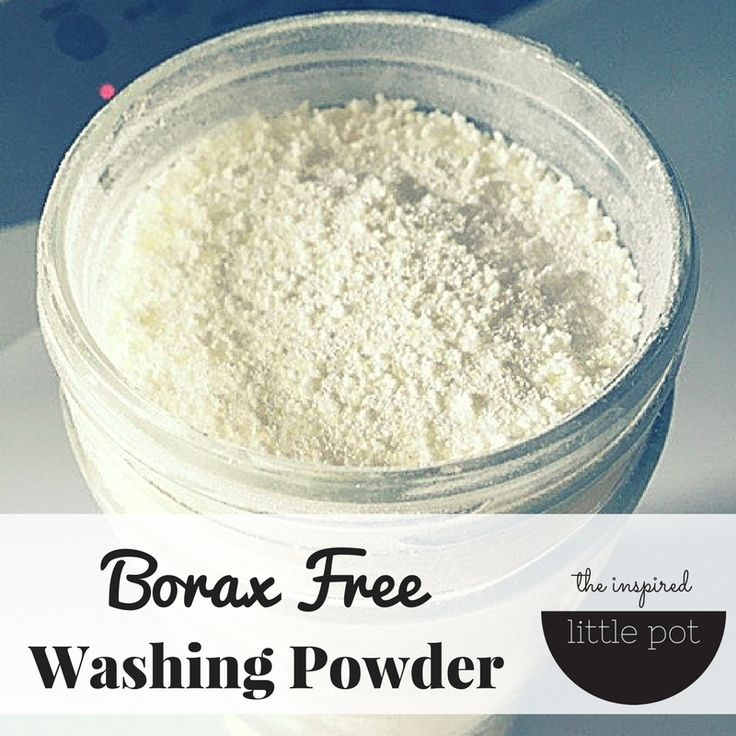 I've adapted my homemade washing powder recipe to create a borax free washing powder for those that wish to avoid borax. Super simple and easy to make.