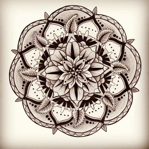 35 Spiritual Mandala Tattoo Designs: Sacred Geometry On Tumblr