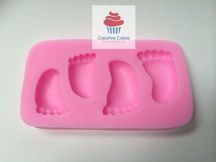 Creative Cakes Australia - Baby Feet Mould