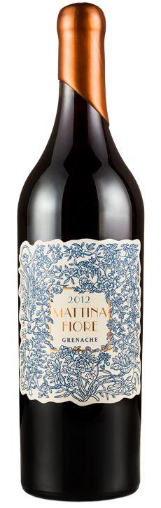 Mattina Fiore Wines #wine #packaging                                                                                                                                                                                 More