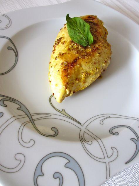 Filets de poulet à la moutarde à l'ancienne et à la menthe citronnée : Diet & Délices - Recettes dietétiques
