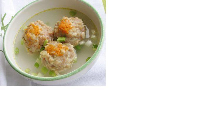 Siomay Ayam Kuah - Chicken Soup Dumplings