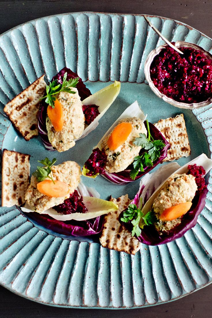 If you loathe gefilte fish, that staple of the Seder, it may just be that you've never had it homemade. In this recipe, created to convert gefilte fish skeptics, the traditional patties are updated with more flavorful fish, and then poached in court-bouillon — that is, a light vegetable broth. (Photo: Gabriela Herman for The New York Times)