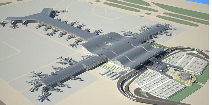 Hamad International Airport Passenger Terminal Complex by HOK