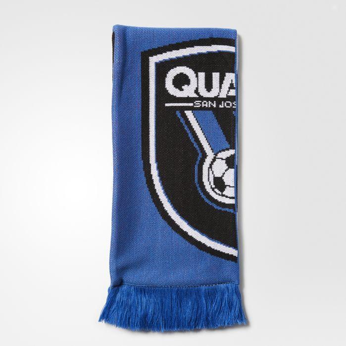 adidas San Jose Earthquakes Jacquard Scarf - Mens Soccer Scarves