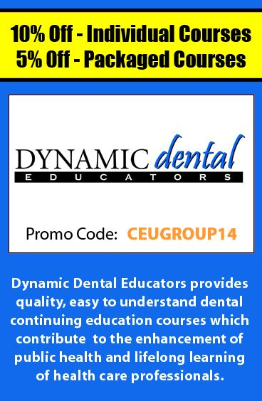 17 best healthcare ceu promo codes images on pinterest receive a great deal on dental continuing education courses when using promo code ceugroup14 fandeluxe Images
