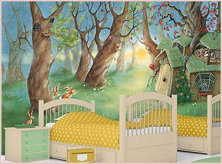 Rabbit Themed Nursery Baby Room Ideas Boy Girl Bunny