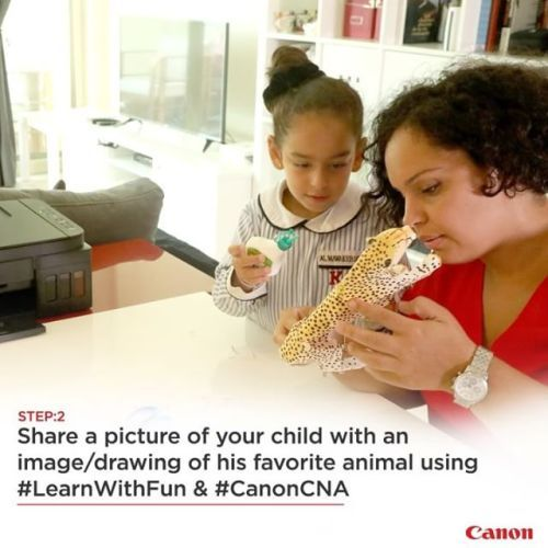 Follow the steps for a chance to win amazing prizes! Share a picture of your child holding an image/drawing of his favorite animal with us using #LearnWithFun and #CanonCNA. For more details visit link in bio. via Canon on Instagram - #photographer #photography #photo #instapic #instagram #photofreak #photolover #nikon #canon #leica #hasselblad #polaroid #shutterbug #camera #dslr #visualarts #inspiration #artistic #creative #creativity