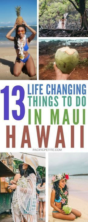 13 Things to do in Maui Hawaii – Jeanette Parmassar