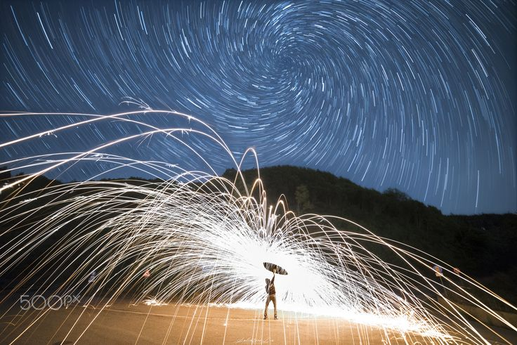 Steel Wool Night! - Imagine! dram in this night!   FB…