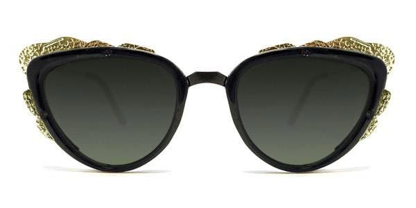Spitfire Proto Punk Black/Gold/Black Sunglasses