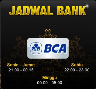 jadwal bank lokal yang offline  #PokerOnline #DominoQQ #BandarQ #CapsaSusun #AduQ