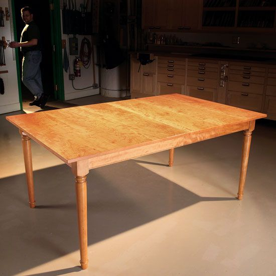 Extending Dining Table   Woodworking Projects   American Woodworker