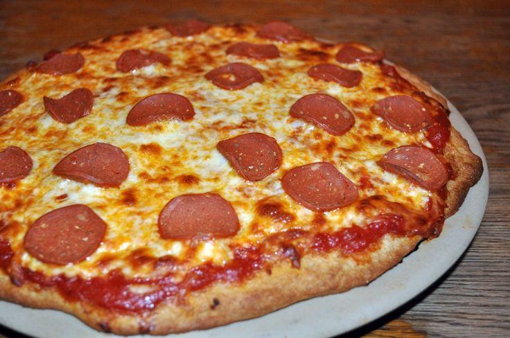 Homemade Veggie Pepperoni Pizza | Amish Recipes
