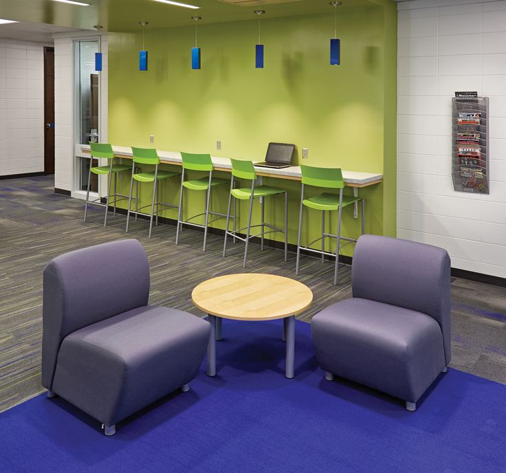See How The New Library At Sioux Center Middle And High School Shines As A Century Teen Space That Allows Students To Read Study Collaborate