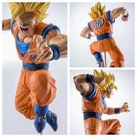 Wish | 19cm PVC Figurines Dragon Ball Z Action Figures Dragonball Figure Son Goku Super Saiyan Dbz Toys Budokai Tenkaichi 3