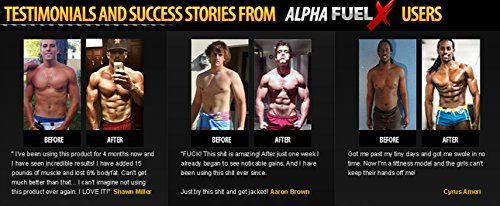 ALPHA FUEL XT TESTOSTERONE 60 CAPSULE FACTORY SEALED* NEW*