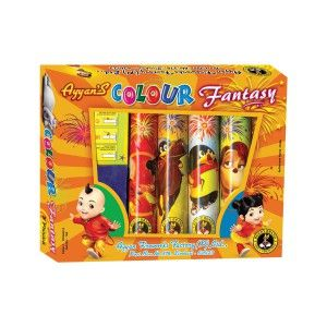 Colour Fantasy Fancy Firecracker Online Shopping. Buy quality crackers at best price from Ayyan fireworks online store. Online shop now! Direct company sale! from Sivakasi Manufacturers.