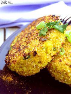 Galette de quinoa et de chou-fleur on http://www.epicesetmoi.be