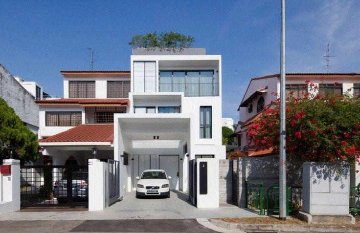 Thiết kế nhà đẹp tinh khôi và cá tính