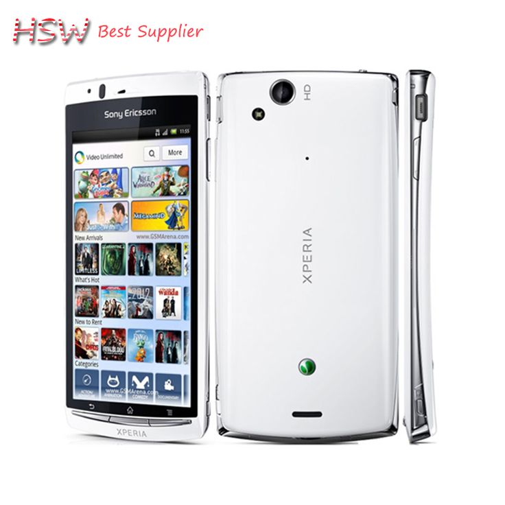original Original Unlocked Sony Ericsson Xperia Arc S LT18i 4.2 Inch 3G WIFI A-GPS 8MP Camera Android Refurbished Mobile Phone