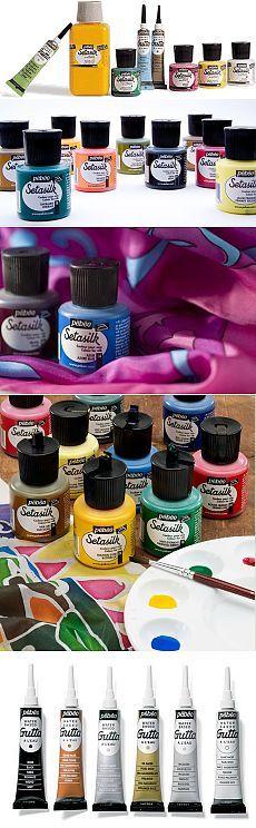 Немного о красках для росписи шелка (батика) - Все о рукоделии. Техники, уроки, история, видео.