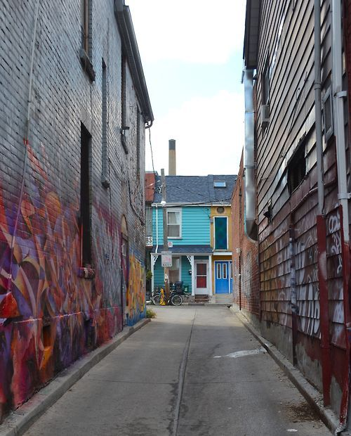 a street in Toronto