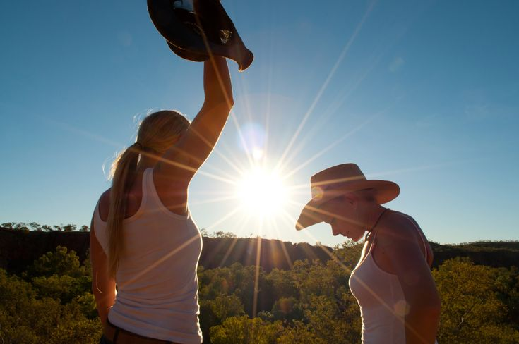 To the Top of Down Under #4WD #4x4 #Adventure #Aussie #Australian #TV #outdoors #travel #akubra #sunset #outback