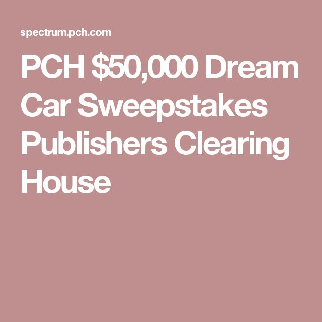 99 best current pch/publishers clearing house sweepstakes you won