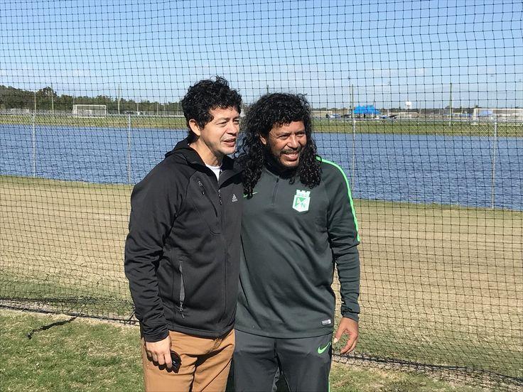 Wilmer Cabrera (Ex Selección Colombia) & Rene Higuita