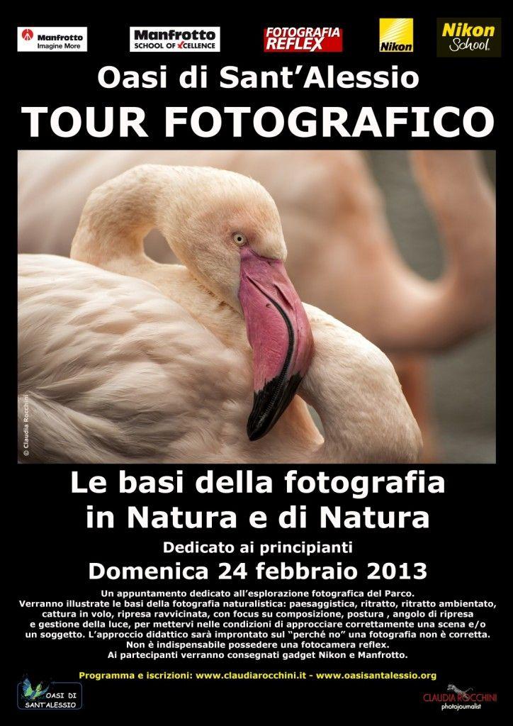"""TOUR FOTOGRAFICO ALL'OASI DI SANT'ALESSIO    Vi aspetto domenica 24 febbraio 2013 con un appuntamento per i principianti della fotografia in Natura e di Natura, con approccio didattico dedicato al """"perché no"""" una fotografia non è corretta."""