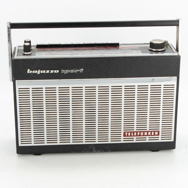 Přenosný radiopřijímač Telefunken Bajazzo Sport
