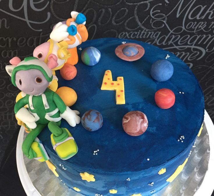 Fluugalaiset, floogals cake ideas