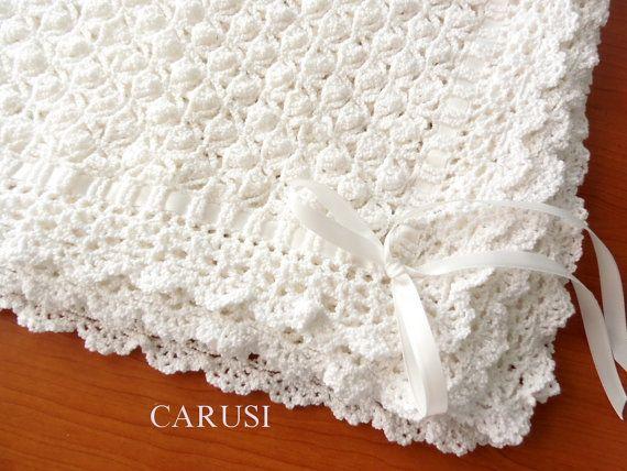 Copertina In Cotone Alluncinetto Copertina Per Neonato Crochet