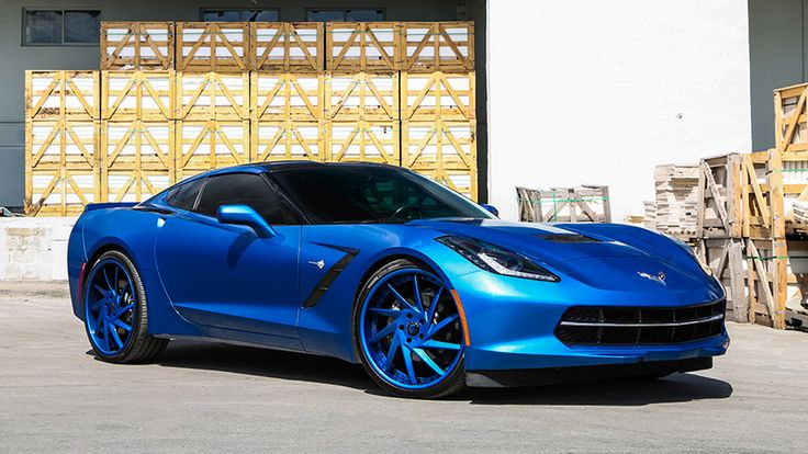 Corvette Stingray on Forgiato Troppo-ECL Wheels in color matched trim with 21 inches up front and 22 in the rear. For more Corvettes on Forgiato's cli...