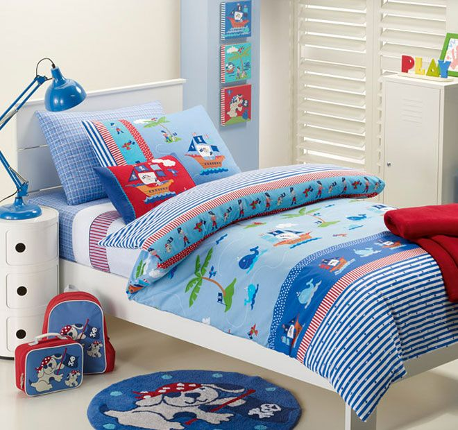 Jiggle and Giggle Ahoy There Quilt Cover Set Range