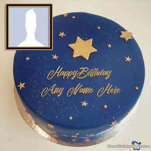 Special Birthday Cake For Friend With Name And Photo