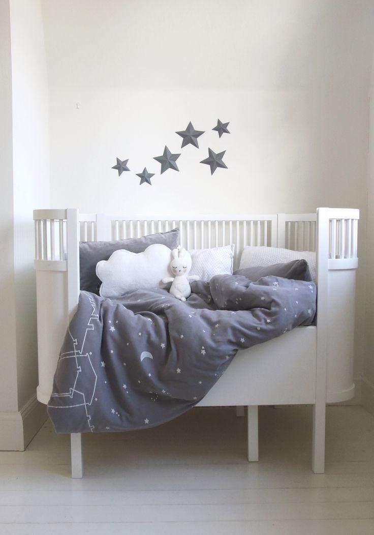 Littleheart bedding Under the same sky - organic bedding for kids