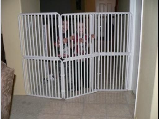 wide pressure fit safety gate