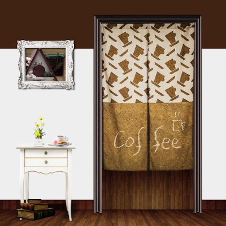#Coffee Cup#doorway Curtain Http://www.amazon.com/