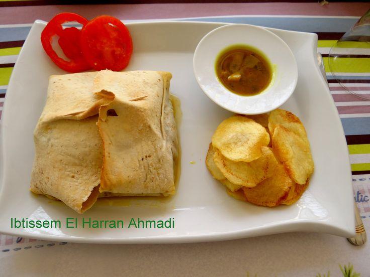 Kéftéji de mérou mélfouf , « Kéftéji en paupiette »  Une autre façon de présenter notre fameux Keftéji au Mérou  #cuisine tunisienne#mérou#poivron#tomate#œufs#