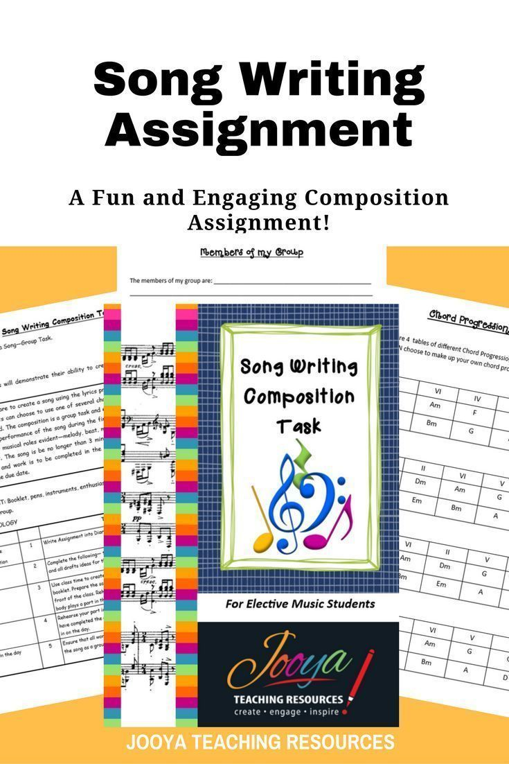280 best school things images on pinterest music classroom this assignment is best suited to middle school and older students assignment includes task description chord progressions guitar and keyboard chord hexwebz Image collections