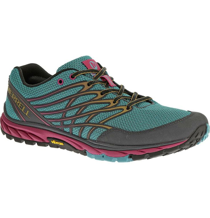 Feel free to explore the trails, accessing a whole new level of comfort and  natural running performance with the Womens Merrell Bare Access Trail  running ...