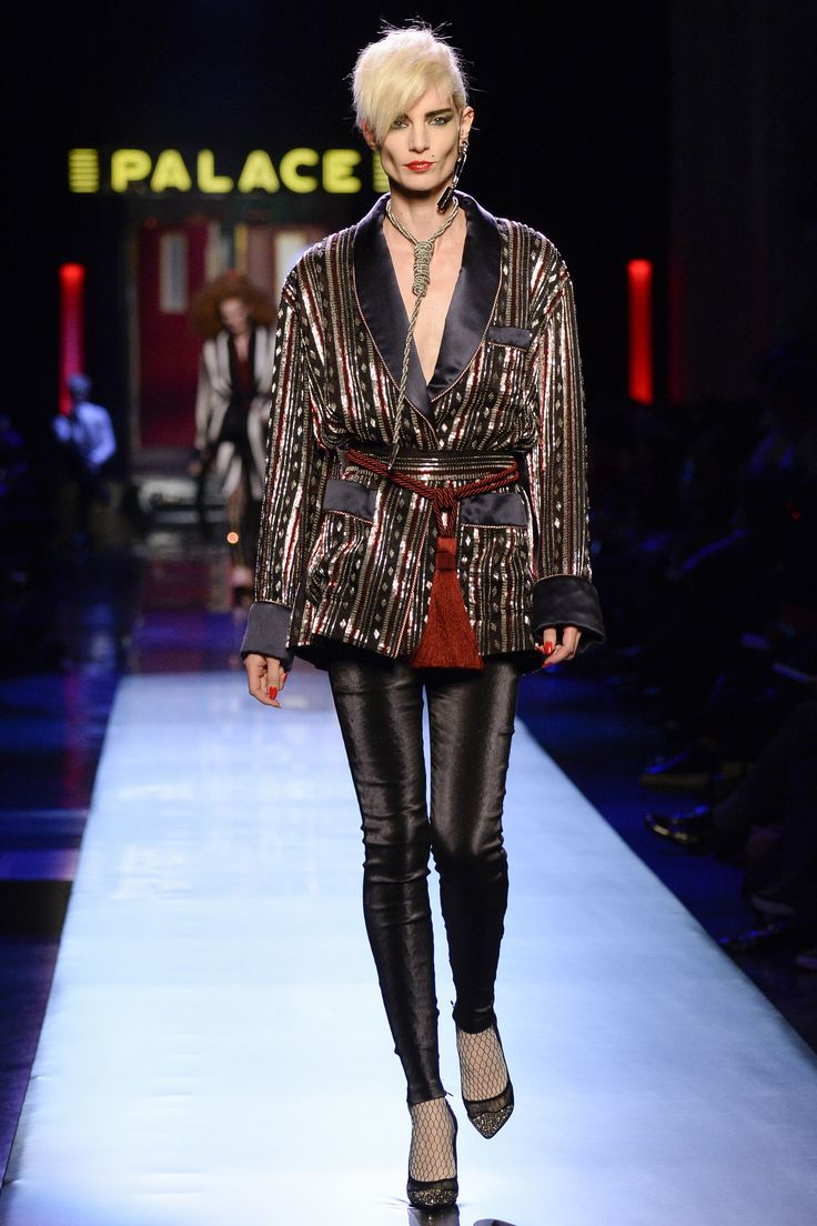 Jean Paul Gaultier Spring 2016 Couture Fashion Show